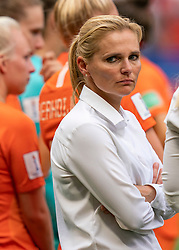 07-07-2019 FRA: Final USA - Netherlands, Lyon<br /> FIFA Women's World Cup France final match between United States of America and Netherlands at Parc Olympique Lyonnais. USA won 2-0 / Sarina Wiegman