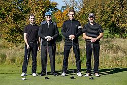 "Tom Lockyer of Bristol Rovers joins team ""3rd Generation Gas"" as they take part in the Bristol Rovers charity golf day - Mandatory byline: Rogan Thomson/JMP - 07966 386802 - 12/10/2015 - GOLF - Farrington Park Golf Club - Bristol, England - Bristol Rovers Golf Day."