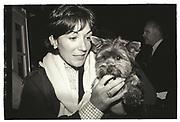 Ghislaine Maxwell, New York. 1994.