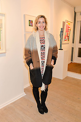 Artist CELINA TEAGUE at a private view entitled Stop Making Sense featuring work by Georgiana Anstruther and Carol Corell held at Lacey Contemporary, 8 Clarendon Cross, London on 9th March 2016.