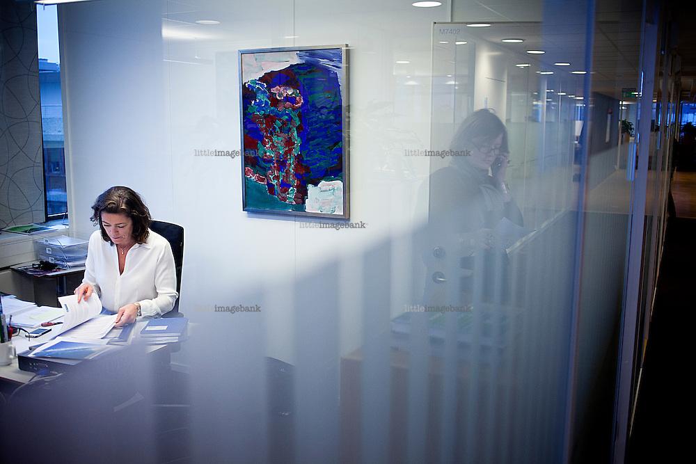 Oslo, Norge, 07.01.2013. Kristin Skogen Lund (født 11. august 1966) er administrerende direktør i Næringslivets Hovedorganisasjon (NHO). Foto: Christopher Olssøn.