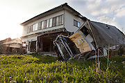 Lots of houses remains when the tsunami hit in Odaka-ku, Minamisoma city. This area is almost like a ghost town since it's located only 20km away from Fukushima Daiichi nuclear plant.