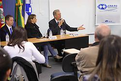 José Fortunati durante palestra no CRA-RS - Conselho Regional de Administração. FOTO: Jefferson Bernardes/Preview.com