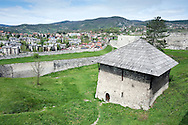 The old fortress in the historic town of Jajce, Bosnia and Herzegovina. © Rudolf Abraham
