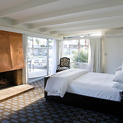 Palm Springs, CA is known for its mid-century modern architecture and examples of it are found throughout the city. The Horizon Hotel, a boutique hotel with 24 rooms, was originally designed by  architect William Cody in 1952, and recently renovated.