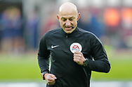 Referee Roger East before the The FA Cup 3rd round match between West Ham United and Birmingham City at the London Stadium, London, England on 5 January 2019.