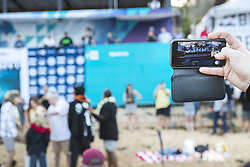 December 8, 2017 - Oahu, Hawaii, U.S. - - The traditional opening ceremony for the Billabong Pipe Masters took place before the first heat of the Pipe Invitational to mark the opening of the event and wish all athletes well and ask for blessed conditions.  The crowd also sang Happy Birthday to Axel Irons the son of Lindie Irons and the late Andy Irons...Billabong Pipe Masters 2017, Hawaii, USA - 08 Dec 2017 (Credit Image: © WSL via ZUMA Wire/ZUMAPRESS.com)