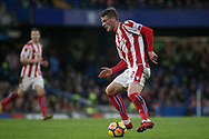Josh Tymon of Stoke City in action.<br /> Premier league match, Chelsea v Stoke city at Stamford Bridge in London on Saturday 30th December 2017.<br /> pic by Kieran Clarke, Andrew Orchard sports photography.