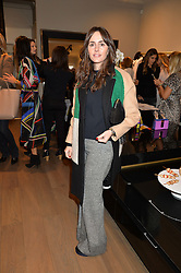 TANIA FARES at the Salt Store VIP Shopping event at 77 Eliabeth Street, London on 2nd December 2015.