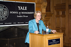 Anne Mulcahy, then CEO and now Chairman, Xerox Corporation, speaking at the Yale School of Management Leaders Forum 1 February 2005