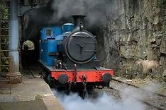 Lakeside-Haverthwaite Railway, Lake District, Cumbria, England