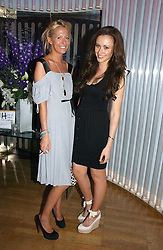 Left to right, the HON.SOPHIA HESKETH and CAMILLA AL FAYED at a party to celebrate the publication of 'How to Party' by Yasmin Mills with illustrations by Olympia Scarry, held at the Fifth Floor Restaurant, Harvey Nichols, Knightsbridge, London on 3rd July 2006.<br /><br />NON EXCLUSIVE - WORLD RIGHTS