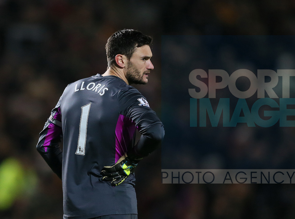Hugo Lloris of Tottenham - Barclays Premier League - Hull City vs Tottenham - Kingston Communications  Stadium - Hull - England - 23rd November 2014  - Picture Simon Bellis/Sportimage