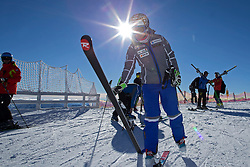 23.10.2015, Rettenbachferner, Soelden, AUT, FIS Weltcup Ski Alpin, Soelden, Vorbereitung, im Bild Michelle Gisin (SUI) waehrend dem Training // during preparation to FIS Ski Alpine World Cup at the Rettenbachferner in Soelden, Austria on 2015/10/23. EXPA Pictures © 2015, PhotoCredit: EXPA/ Freshfocus/ Christian Pfander<br /> <br /> *****ATTENTION - for AUT, SLO, CRO, SRB, BIH, MAZ only*****