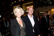 Vogue: Fashion's Night Out: Armani. Bond st.  London. 8 September 2010.  -DO NOT ARCHIVE-© Copyright Photograph by Dafydd Jones. 248 Clapham Rd. London SW9 0PZ. Tel 0207 820 0771. www.dafjones.com.