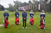 HILVERSUM -  TEAM DENMARK / DENEMARKEN. ELTK Golf  2020 The Dutch Golf Federation (NGF), The European Golf Federation (EGA) and the Hilversumsche Golf Club will organize Team European Championships for men.  COPYRIGHT KOEN SUYK