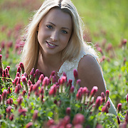 Natalie Daczkowski poses outside on an early April morning.