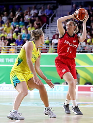 England's Mollie Campbell in the Women's Gold Medal Game at the Gold Coast Convention and Exhibition Centre during day ten of the 2018 Commonwealth Games in the Gold Coast, Australia.