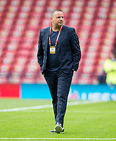Football - 2018 / 2019 UEFA European Championship Qualifier - Group I: Scotland vs. Cyprus<br /> <br /> Cyprus manager Ran Ben Shimon during the European Championship Qualifying match between Scotland and Cyprus, at Hampden Park, Glasgow.<br /> <br /> COLORSPORT/BRUCE WHITE