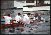 Henley, Great Britain,  Radley College, Celebrate, 1988 Henley Royal Regatta, Henley Reach, River Thames, Annual Event. [Mandatory credit: Peter Spurrier/Intersport Images]
