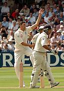 Lord's London, 1st NPower Test   England v New Zealand.  Steve Harmison 20/05/2004 <br /> [Credit Peter Spurrier Intersport Images}