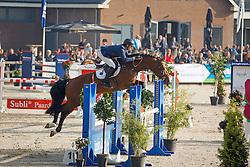 180 - Elvaro - Snels Zoi<br /> 5 Jarige Finale Springen<br /> KWPN Paardendagen - Ermelo 2014<br /> © Dirk Caremans
