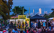 The Vancouver Folk Festival is held at Jericho Beach Park every summer, offering live music and views of the city.