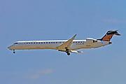 D-ACNL Eurowings Canadair Regional Jet CRJ-900 Photographed at Malpensa airport, Milan, Italy