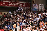 DESCRIZIONE : Reggio Emilia Lega A 2014-15 Grissin Bon Reggio Emilia Banco di Sardegna Sassari finale play off gara 1<br /> GIOCATORE : tifosi Banco di Sardegna Sassari<br /> CATEGORIA : tifosi<br /> SQUADRA : Banco di Sardegna Sassari<br /> EVENTO : Campionato Lega A 2014-2015<br /> GARA : Grissin Bon Reggio Emilia Banco di Sardegna Sassari<br /> DATA : 14/06/2015<br /> SPORT : Pallacanestro <br /> AUTORE : Agenzia Ciamillo-Castoria/E.Rossi<br /> Galleria : Lega Basket A 2014-2015 <br /> Fotonotizia : Reggio Emilia Lega A 2014-15 Grissin Bon Reggio Emilia Banco di Sardegna Sassari finale play off gara 1