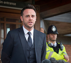 Ant McPartlin 16th April 2018
