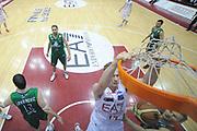 DESCRIZIONE : Milano Lega A 2011-12 EA7 Emporio Armani Milano Montepaschi Siena Finale Play off gara 5<br /> GIOCATORE : Leon Radosevic<br /> CATEGORIA : special schiacciata<br /> SQUADRA : EA7 Emporio Armani Milano<br /> EVENTO : Campionato Lega A 2011-2012 Semifinale Play off gara 5<br /> GARA : EA7 Emporio Armani Milano Montepaschi Siena<br /> DATA : 15/06/2012<br /> SPORT : Pallacanestro <br /> AUTORE : Agenzia Ciamillo-Castoria/C.De Massis<br /> Galleria : Lega Basket A 2011-2012  <br /> Fotonotizia : Milano Lega A 2011-12 EA7 Emporio Armani Milano Montepaschi Siena Finale Play off gara 5<br /> Predefinita :