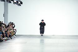 June 8, 2019 - United Kingdom - The designer after his presenting of the new Spring/Summer 2020 MUNN collection during London Fashion Weak Men's in the old Truman's Brewery show space in London on the June 8, 2019. (Credit Image: © Dominika Zarzycka/NurPhoto via ZUMA Press)