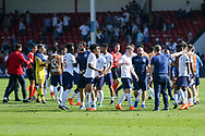 England players after the final whistle during the UEFA European Under 17 Championship 2018 match between England and Italy at the Banks's Stadium, Walsall, England on 7 May 2018. Picture by Mick Haynes.