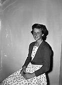 1958 Miss Suzanne Passport Photo