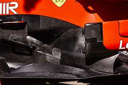 February 28, 2019 - Barcelona, Barcelona, Spain - Ferrari aerodinamics detail of sidepod  during the Formula 1 2019 Pre-Season Tests at Circuit de Barcelona - Catalunya in Montmelo, Spain on February 28. (Credit Image: © Xavier Bonilla/NurPhoto via ZUMA Press)
