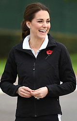 The Duchess of Cambridge visits the Lawn Tennis Association at the The National Tennis Centre, London, UK, on the 31st October 2017. 31 Oct 2017 Pictured: Catherine, Duchess of Cambridge, Kate Middleton. Photo credit: James Whatling / MEGA TheMegaAgency.com +1 888 505 6342
