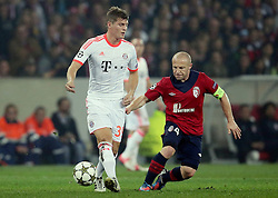 23.10.2012, Grand Stade Lille Metropole, Lille, OSC Lille vs FC Bayern Muenchen, im Bild Toni KROOS (FC Bayern Muenchen - 39) - Florent BALMONT (OSC Lille - 04) // during UEFA Championsleague Match between Lille OSC and FC Bayern Munich at the Grand Stade Lille Metropole, Lille, France on 2012/10/23. EXPA Pictures © 2012, PhotoCredit: EXPA/ Eibner/ Gerry Schmit..***** ATTENTION - OUT OF GER *****