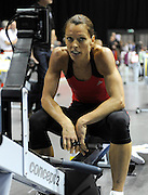 Birmingham, Great Britain,  Women's, 40-44, Claire HAYNES, Bedford,  competing at the 2008 British Indoor Rowing Championships, National Indoor Arena. on  Sunday 26.10.2008 . [Photo, Peter Spurrier/Intersport-images] .