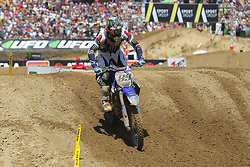 June 17, 2018 - Ottobiano, Lombardia, Italy - Jeremy Van Horebeek of Monster Energy Yamaha Factory MXGP team during the Fiat Professional MXGP of Lombardia race at Ottobiano Motorsport circuit on June 17, 2018 in Ottobiano (PV), Italy. (Credit Image: © Massimiliano Ferraro/NurPhoto via ZUMA Press)