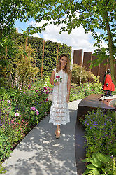 KATIE PIPER at the 2016 RHS Chelsea Flower Show, Royal Hospital Chelsea, London on 23rd May 2016