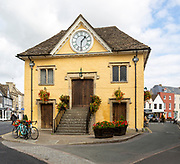 Historic 17th century Market Hall building, Tetbury, Gloucestershire, Cotswolds, England, UK