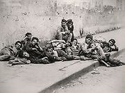 'Sweet Idleness' Fratelli Alinari 1897 Naples, Italy group of poor street boys