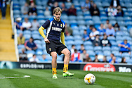 Cambridge United Midfielder, Luke Berry (8) warms up during the EFL Sky Bet League 2 match between Portsmouth and Cambridge United at Fratton Park, Portsmouth, England on 22 April 2017. Photo by Adam Rivers.
