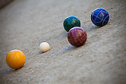 The Competitive Sport of Bocce Ball