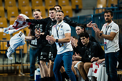 Tomaz Ocvirk head coach of RK Celje Pivovarna Lasko during handball match between RK Celje Pivovarna Lasko (SLO) and THW Kiel (GER) in Group Phase B of EHF Champions League 2020/21, on 1 October, 2020 in Arena Zlatorog, Celje, Slovenia. Photo by Grega Valancic / Sportida