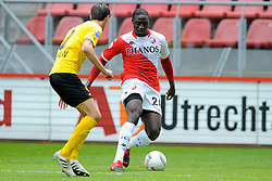 16-05-2010 VOETBAL: FC UTRECHT - RODA JC: UTRECHT<br /> FC Utrecht verslaat Roda in de finale van de Play-offs met 4-1 en gaat Europa in / Jacob Mulenga<br /> ©2009-WWW.FOTOHOOGENDOORN.NL