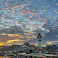 New England lighthouses fine art photography of a sunset at Scituate Lighthouse in Scituate, Massachusetts.<br /> <br /> South shore of Boston Scituate Lighthouse photography photos are available as museum quality photo, canvas, acrylic, wood or metal prints. Wall art prints may be framed and matted to the individual liking and New England interior design projects decoration needs.<br /> <br /> Good light and happy photo making!<br /> <br /> My best,<br /> <br /> Juergen