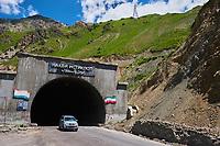Tadjikistan, Asie centrale, Tunnel d'Anzob entre Duchanbe et Khodjent// Tajikistan, Central Asia, Anzob tunnel between Duchanbe e Khujand
