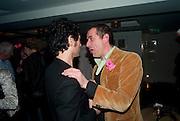 PAUL NOBLE; GIGI GIANUZZI; , Polly Morgan 30th birthday. The Ivy Club. London. 20 January 2010