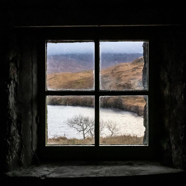 Leacraithnaich bothy I, Ardtornish, Highland, Scotland.